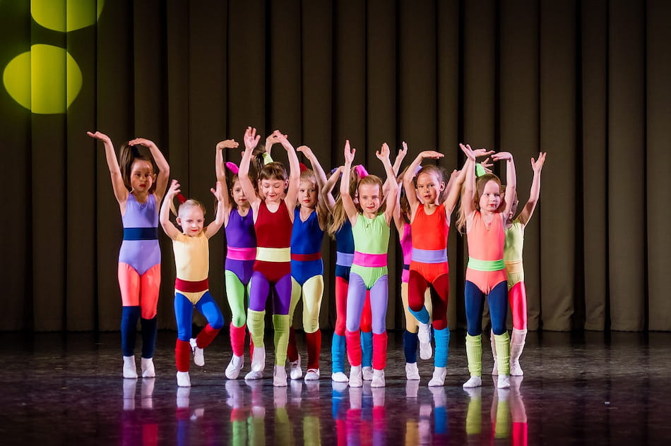 Танцы для ребёнка в невском районе Петербурга